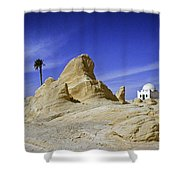 Tunisian Desertscape Shower Curtain