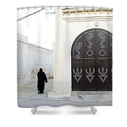 Tunisiandoor3 Shower Curtain