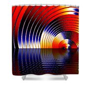 Tunnel Of Love Shower Curtain