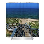 Tunnel Park Holland Michigan Shower Curtain