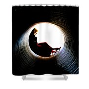 Tunnel Shower Curtain