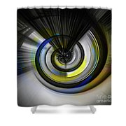 Tunnel To Nowhere Shower Curtain