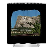Tunnel View Mt Rushmore 2 A Shower Curtain