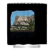 Tunnel View Mt Rushmore 2 B Shower Curtain