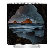 Tunnel View Nights Shower Curtain