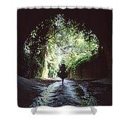 Tunnel Walk Shower Curtain