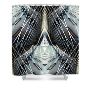 Tunnels End Shower Curtain