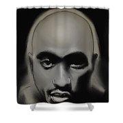 Tupac Amaru Shakur Shower Curtain