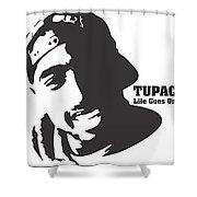 Tupac Digital Art By Muz Yep