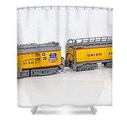 Turbine 71 Shower Curtain