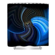 Turbine Dynamo Shower Curtain