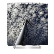 Turbine Shower Curtain