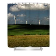 Turbines At Goonhaven Shower Curtain