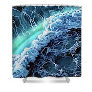 Turbulence Shower Curtain