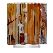 Turbulent Times Shower Curtain