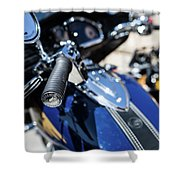 Turgalium Motorcycle Club 02 Shower Curtain