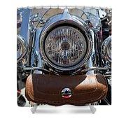 Turgalium Motorcycle Club 05 Shower Curtain