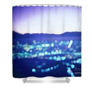 Turin By Night Shower Curtain
