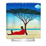Turkana Afternoon Shower Curtain
