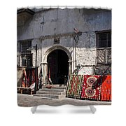 Turkish Carpet Shop Shower Curtain