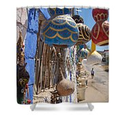 Turkish Lamps Shower Curtain