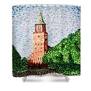 Turku Cathedral  Shower Curtain