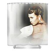 Turn Back Shower Curtain
