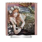 Turn Loose The Mermaid Shower Curtain