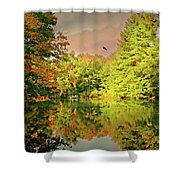 Turn Of River Shower Curtain