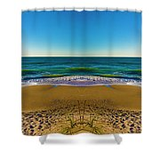Turn The Page Shower Curtain