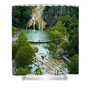 Turner Falls Grand View Two Shower Curtain