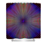 Turning And Spinning Shower Curtain