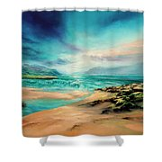 Turning Tide Shower Curtain