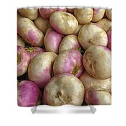 Turnips Shower Curtain