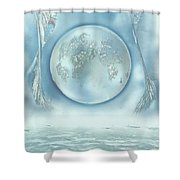 Turquoise Dream Shower Curtain