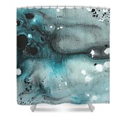 Turquoise Ecstasy By Madart Shower Curtain