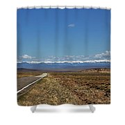 Turquoise Mine Off Hwy 142 Shower Curtain