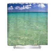 Turquoise Ocean Shower Curtain