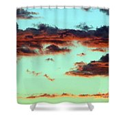 Turquoise Trail Shower Curtain