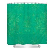 Turquoise Transitions Abstract Design Art By Omaste Witkowski  Shower Curtain