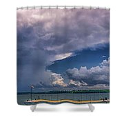 Turtle Point7 Shower Curtain