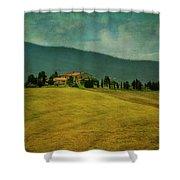 Tusacany Hills Shower Curtain