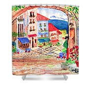 Tuscan Archway II Shower Curtain