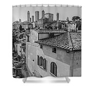A Window To Tuscany Shower Curtain