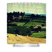 Tuscan Country Shower Curtain