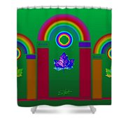 Tuscan Equinox Shower Curtain