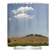 Tuscan Field And Cloud 4699 Shower Curtain