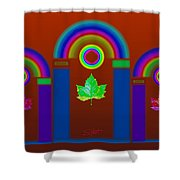 Tuscan Heat Shower Curtain