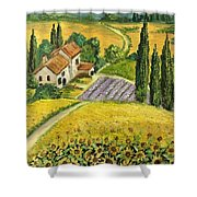 Tuscan Italy Shower Curtain