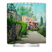 Tuscan Landscape Shower Curtain